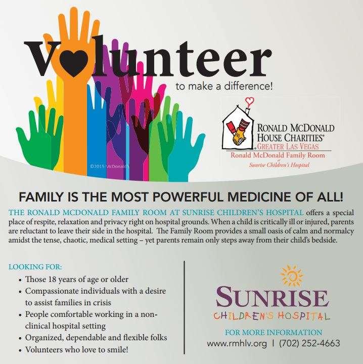 Volunteer RMH Family Room