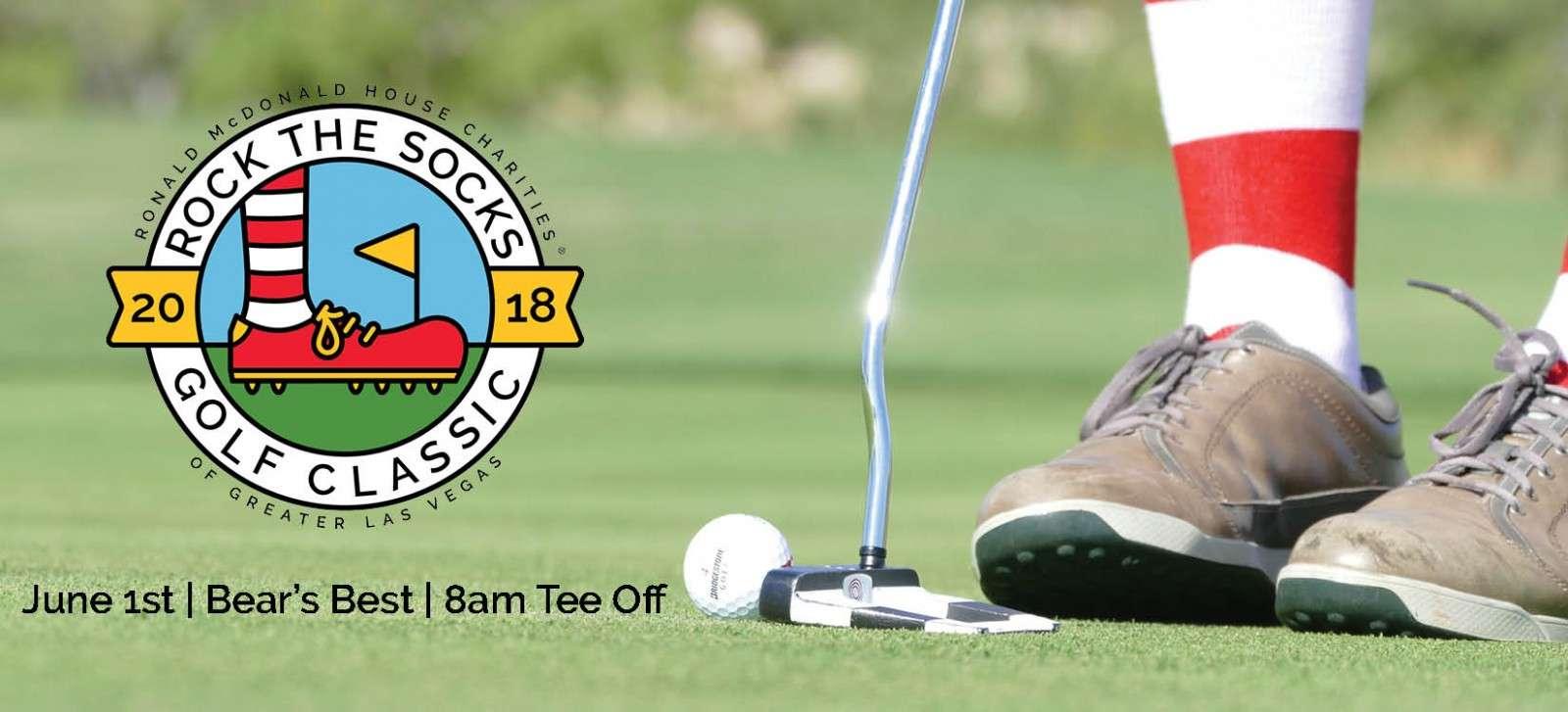 Rock the Socks Golf Classic Group Photo