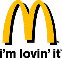 McDonald's i'm loving Logo 4C Flat PC Large copy
