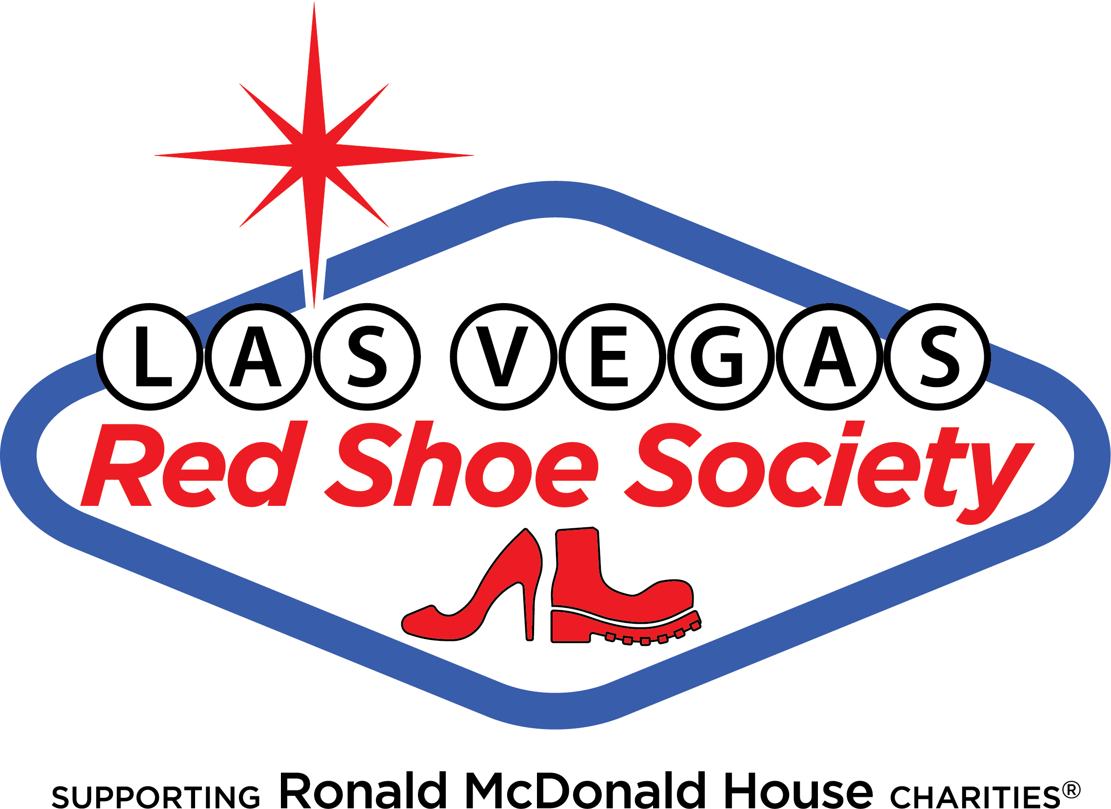 Red Shoe Society logo with TM