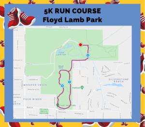 Floyd Lamb 5K Course
