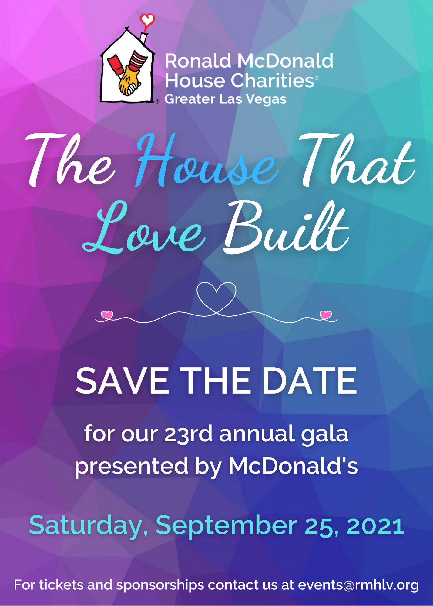 2021 Gala Save The Date